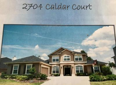 Single Family Home For Sale: 2704 Caldar Ct