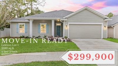 Jacksonville Single Family Home For Sale: 10784 Lawson Branch Ct #LOT 1