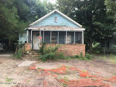Jacksonville Single Family Home For Sale: 1644 W 36th St