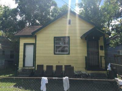 Jacksonville Single Family Home For Sale: 1347 Mt Herman St