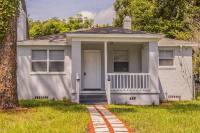 Jacksonville Single Family Home For Sale: 7510 Wilder Ave