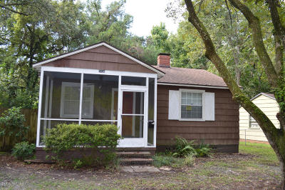 Riverside Single Family Home For Sale: 2836 Cherokee Cir S