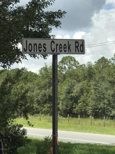 Residential Lots & Land For Sale: Jones Creek Rd