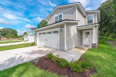 Jacksonville Single Family Home For Sale: 8225 Highfield Ave