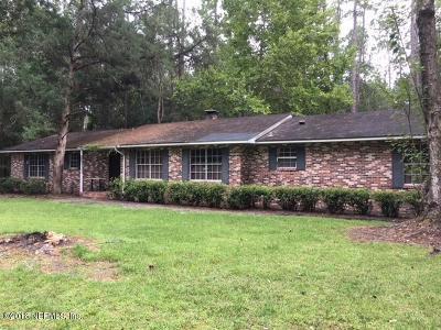 Starke Single Family Home For Sale: 2040 NE 154th St
