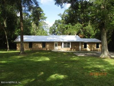Starke Single Family Home For Sale: 615 S Colley Rd