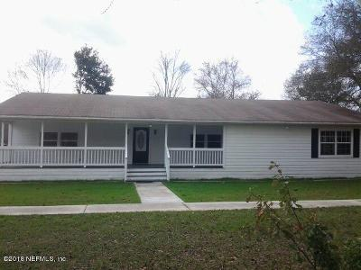 Clay County Single Family Home For Sale: 4013 Old Jennings Rd