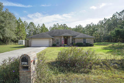 Middleburg Single Family Home For Sale: 2970 Eagle Point Rd