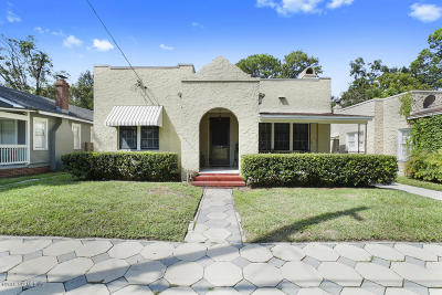 Single Family Home For Sale: 1354 Ingleside Ave