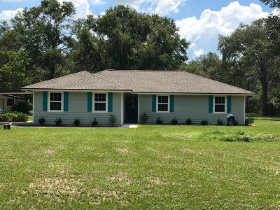 Middleburg Single Family Home For Sale: 2822 Eagle Point Rd
