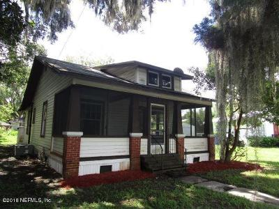 St. Johns County Single Family Home For Sale: 110 E St Johns Ave