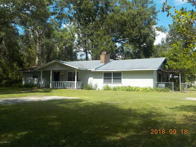 Macclenny FL Single Family Home For Sale: $197,000