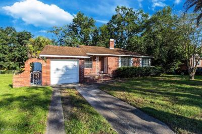 Jacksonville Single Family Home For Sale: 2757 Glen Mawr Rd