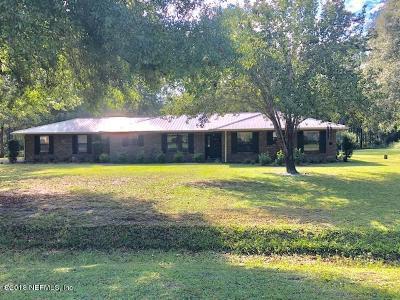 Starke Single Family Home For Sale: 15844 NE 15th Pl