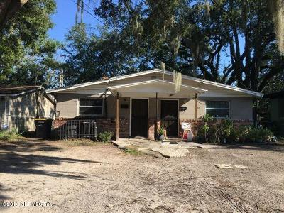 Jacksonville Single Family Home For Sale: 1623 W 32nd St