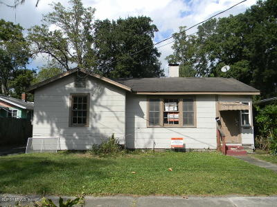 Jacksonville Single Family Home For Sale: 1437 W 9th St
