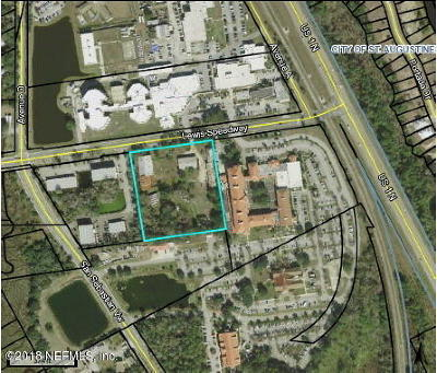 St. Johns County Residential Lots & Land For Sale: 3950 Lewis Speedway