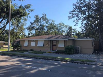 Jacksonville Single Family Home For Sale: 1567 Blanding Blvd