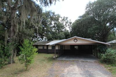 Single Family Home For Sale: 6917 Gatorbone Rd