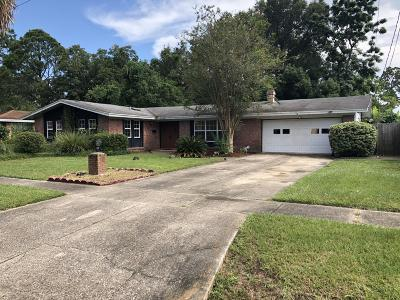 Jacksonville Single Family Home For Sale: 8524 Haverhill St