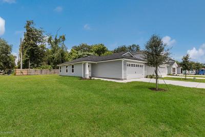 Jacksonville Single Family Home For Sale: 8463 Thor St