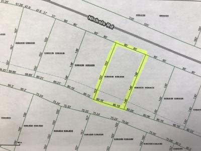 Residential Lots & Land For Sale: 135 Nichols Rd