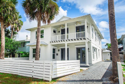 Atlantic Beach, Jacksonville Bc, Neptune Beach, Crescent Beach, Ponte Vedra Bch, St Augustine Bc Single Family Home For Sale: 1355 Ocean Blvd