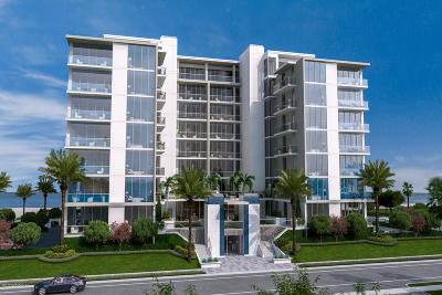 Jacksonville Beach Condo For Sale: 1401 1st St S #702