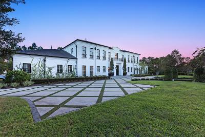 Jacksonville FL Single Family Home For Sale: $3,500,000