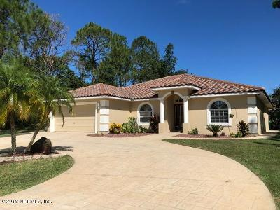 Flagler County Single Family Home For Sale: 16 Wood Clift Ln