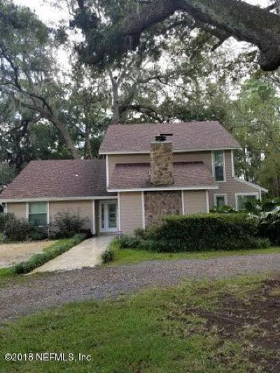 Jacksonville Single Family Home For Sale: 10515 Scott Mill Rd