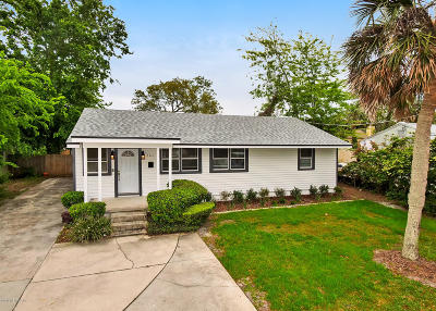 Atlantic Beach Single Family Home For Sale: 161 Seminole Rd