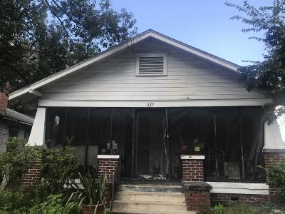Jacksonville Single Family Home For Sale: 527 W 19th St
