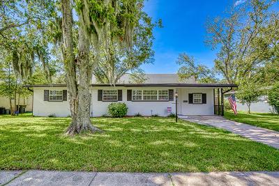 Jacksonville Single Family Home For Sale: 2214 Shull Dr