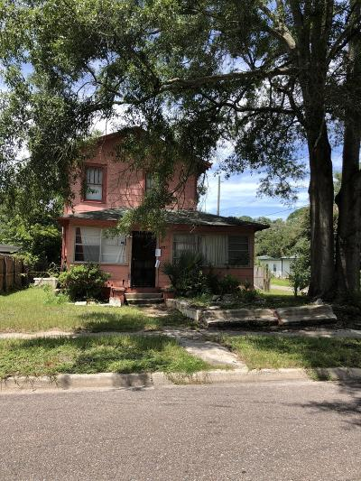 Jacksonville Single Family Home For Sale: 1705 W 16th St
