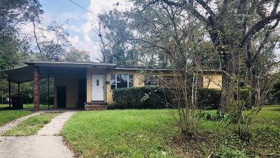 Jacksonville FL Single Family Home For Sale: $59,000