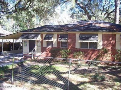 Jacksonville Single Family Home For Sale: 8109 Paul Jones Dr