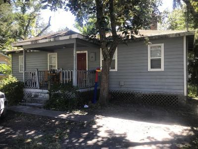 Jacksonville Single Family Home For Sale: 3112 Rosselle St