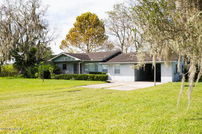 Lawtey Single Family Home For Sale: 22444 NW 61st Ave