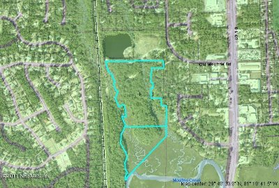 St. Johns County Residential Lots & Land For Sale: 3600 Yellow Rd