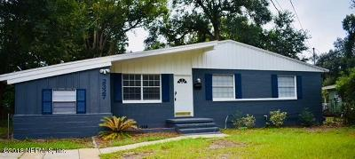 Jacksonville Single Family Home For Sale: 2327 Caladium Rd