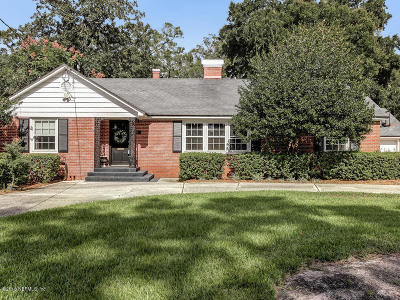 Jacksonville Single Family Home For Sale: 1155 Eutaw Pl