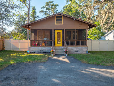 Duval County Single Family Home For Sale: 3210 St Augustine Rd