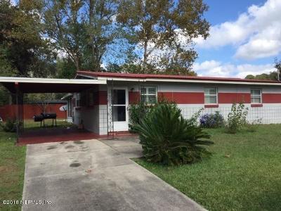 Jacksonville Single Family Home For Sale: 6923 Jack Horner Ln