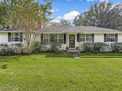Duval County Single Family Home For Sale: 4530 Huntington Rd