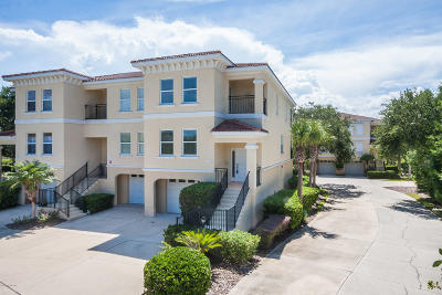 St. Johns County Townhouse For Sale: 1903 Windjammer Ln