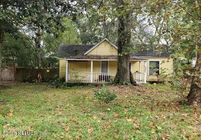 Jacksonville Single Family Home For Sale: 1251 Orton St
