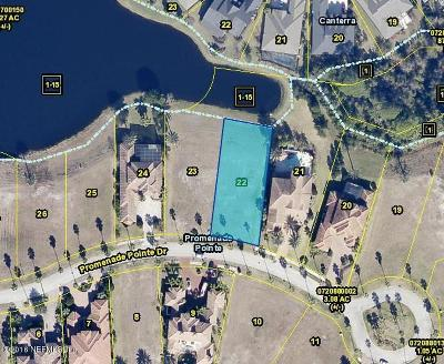 St. Johns County Residential Lots & Land For Sale: 739 Promenade Pointe Dr