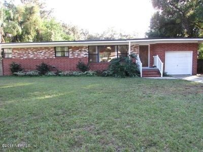 St. Johns County, Clay County, Putnam County, Duval County Rental For Rent: 5414 Oliver St S