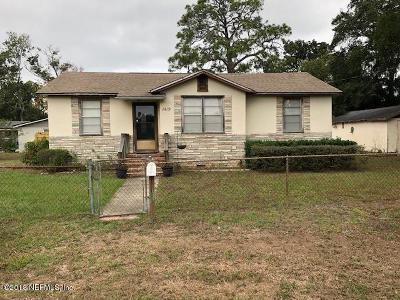 Jacksonville Beach FL Single Family Home For Sale: $229,900